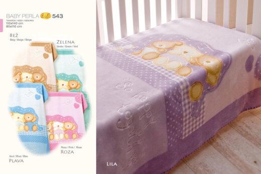 Deka za bebe Perla Gold 543