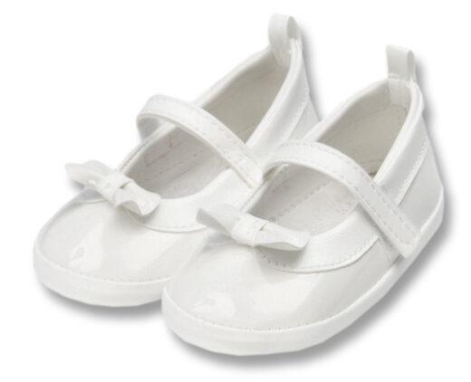 Balerinke za bebe B-01 bijele