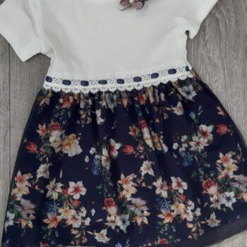 Haljina za djevojčice cvjetni uzorak