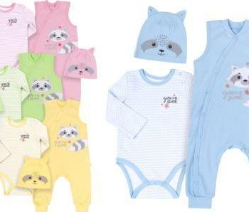 Komplet za novorođenče KP221