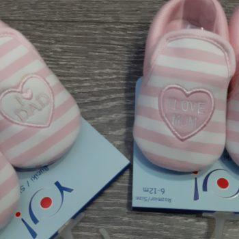 Papuče roze OB-066