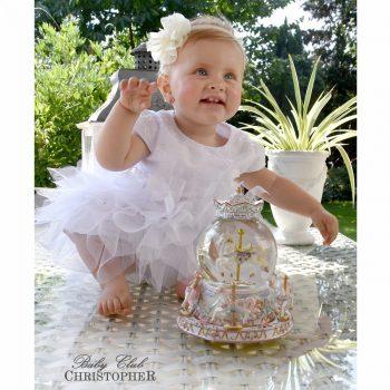 Krsna haljina sa perlicama i tilom 6475