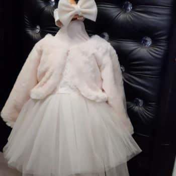 Krsna haljina s bolerom - bundicom