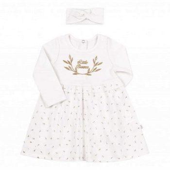 bijela haljina za bebu kp238