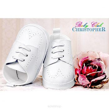 Bijele cipele za bebe 2798
