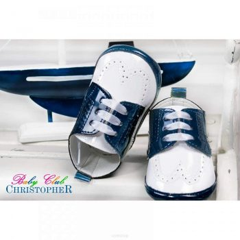 Cipelice za krštenje lakirane