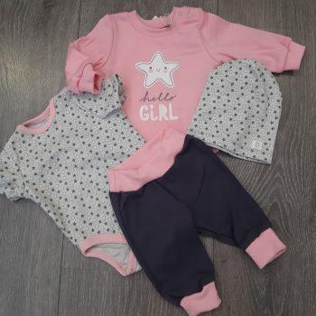 Komplet za novorođenu bebu KP249