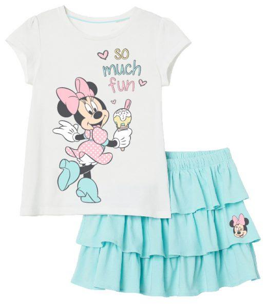 Suknja i majica Minnie