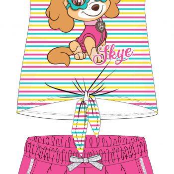 Kratke hlače i majica za djevojčice